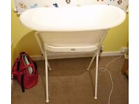 Baby Bath and Stand White Bebe Jou Bébé-Jou Plus Seat and Hose