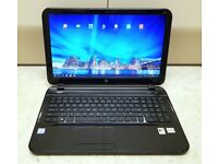 """HP PAVILION 15B142 LAPTOP 15.6 """" ONE WEEK OLD LIKE NEW WINDOWS 10 AND 500 GB HDD"""