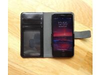 Leather iPhone Holder Case & Wallet