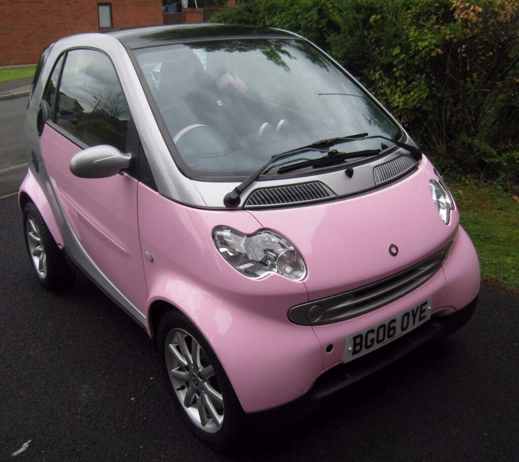 smart car coupe fortwo pink passion limited edition. Black Bedroom Furniture Sets. Home Design Ideas