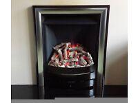 Legend Spirit 3.5 kw Log Effect Inset Gas Fire ( Bronze )