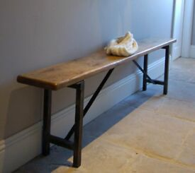 Vintage Industrial Style Boot Room, Hall Bench