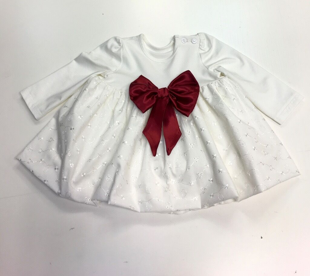 Ivory Baby Dress for Christening, Wedding, Christmas gift, made in London £60