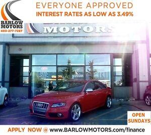 2011 Audi S4 3.0**AMVIC INSPECTION & CARPROOF PROVIDED!