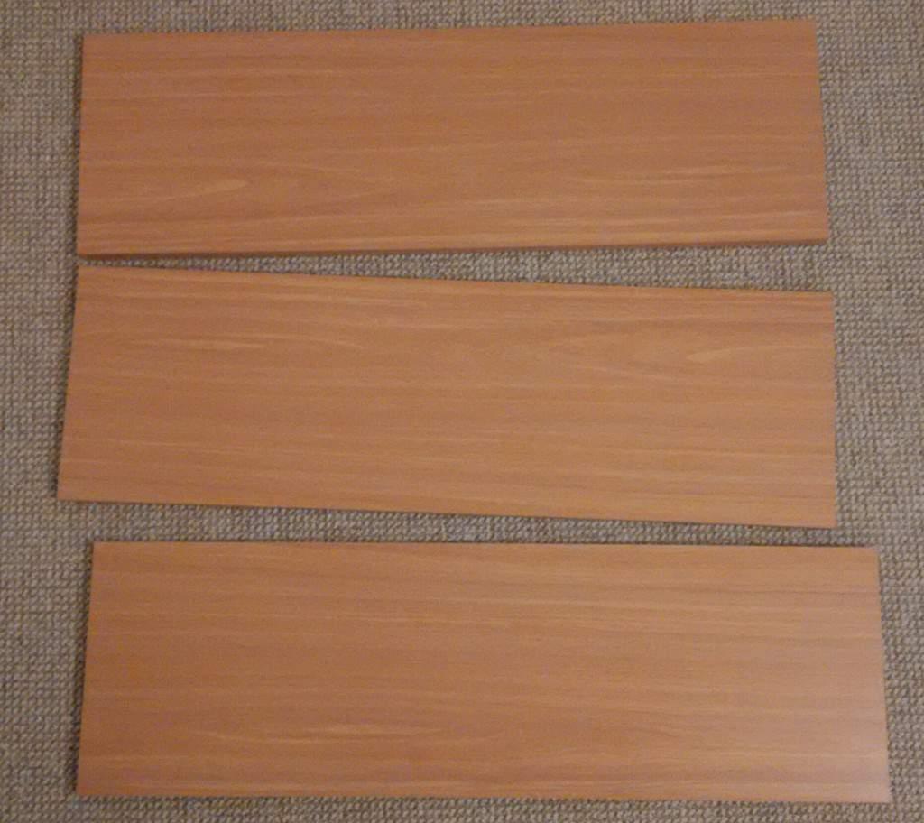 3 Shelves