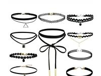 Reduced black chokers