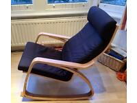 Mint Condition Wooden Rocking Chair