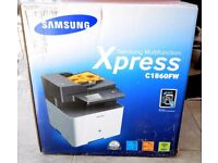 Samsung C1860FW 4-in-1 Color Laser Multi-Function Printer ** BRAND NEW - BOXED**