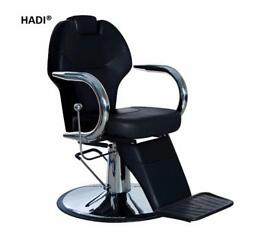 NEW BLACK HADI® BARBER CHAIR BC-27,CASH ON COLLECTION ONLY new uk