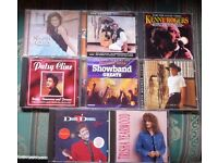 34 CDs Country & Easy Listening