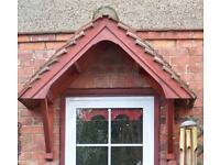 Wood Door Canopy