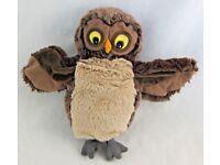 Brown Owl Hand Puppet Soft Toy / Plush Teacher - Birthday Present / Gift