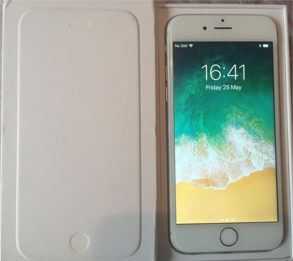 Apple iPhone 6 - 64gb Silver Boxed ✨Unlocked To All Networks or Sim Providers✨