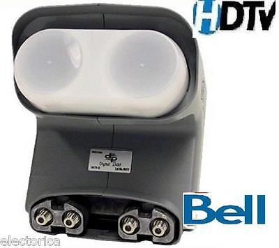QUAD DPP LNB For BELL TV-DISH NETWORK PRO PLUS HD TWIN DishPro TELUS SATELLITE for sale  Canada
