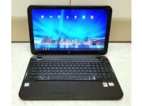 """HP PAVILION LAPTOP 15.6 """" WINDOWS 10 AND 500 GB HDD IMMACULATE CONDITION LIKE NEW"""