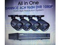 SANNCE Video DVR survelliance Kit