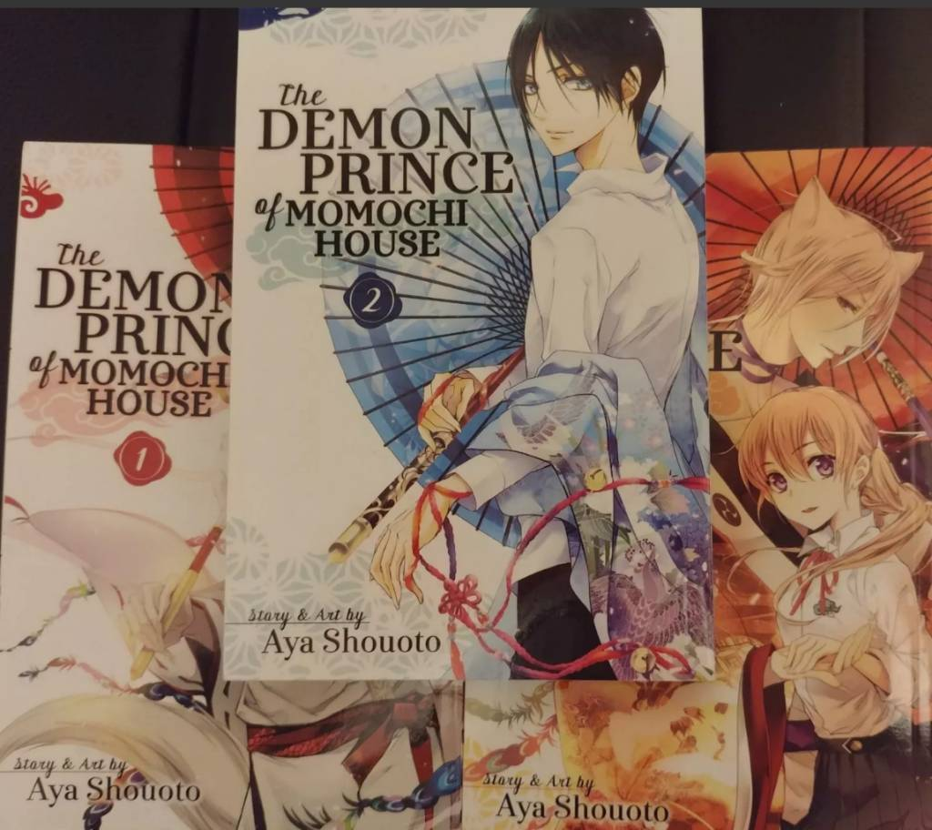 Shoujo Manga: The Demon Prince of Momichi House: VOL 1, 2 and 3 | in Small  Heath, West Midlands | Gumtree