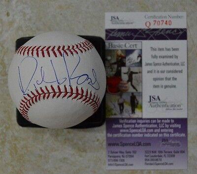 Richard Branson Signed Official Major League Baseball W  Jsa Coa  Q70740 Omlb