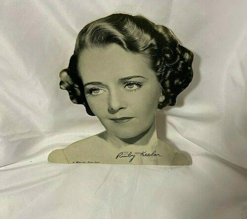 Warner Bros Ruby Keeler Cardboard Cut Out