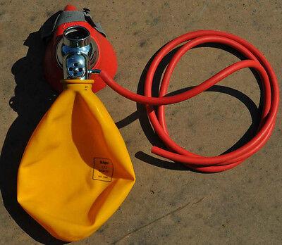 Inhaliermaske Dräger // Sauerstoffmaske // Beatmung // Sauerstoff // O2