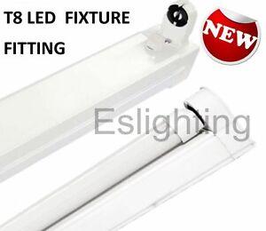 details about single fixture t8 1200mm 4ft fitting batten for led tube. Black Bedroom Furniture Sets. Home Design Ideas