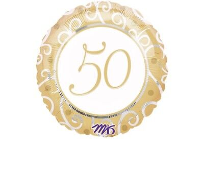 50th Wedding Anniversary Balloons Decorations (50th Wedding Anniversary 18