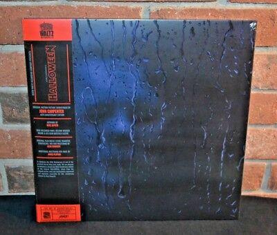 HALLOWEEN - Soundtrack, Ltd 40th Anni 180G TRANS ORANGE VINYL LP Gatefold + OBI - Halloween Lp