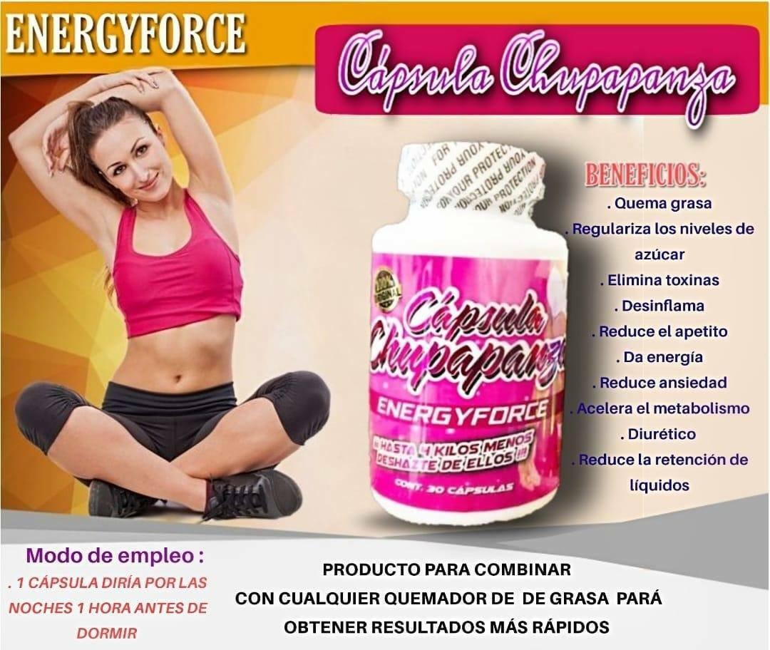 Chupa Panza Energyforce Diet pills/ pastillas para bajar de peso