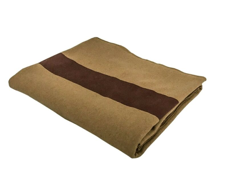 US Civil War Blanket - Reproduction | 100% Breathable Wool | FREE USA Delivery!
