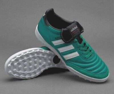 NEW MEN'S ADIDAS MUNDIAL TEAM SOCCER TURF SHOES ~ US 11  #BY2509 EQT GREEN