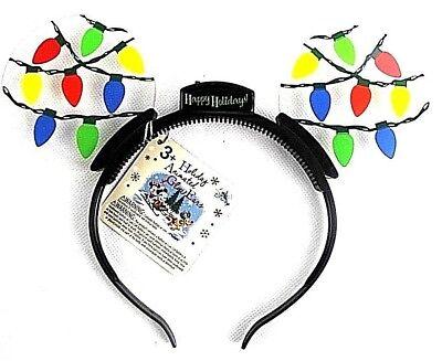 New MICKEY MOUSE  Headband Christmas Dress up LIGHTS UP  Fun FLASHING](Dress Up Mickey)