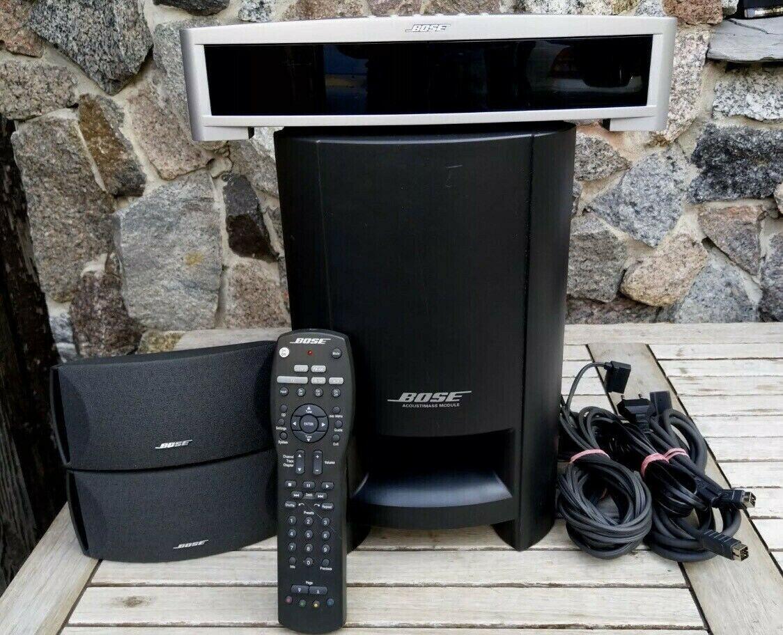 ✅Bose 321 3-2-1 Series Audio / Heimkino-System Subwoofer Aktiv CD Radio