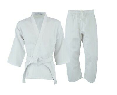 Martial Arts Karate Uniform /KUMITE LIGHT WEIGHT Gi Student uniform WHITE -