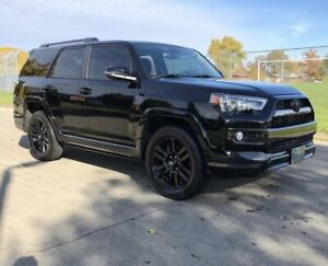 2019 TOYOTA 4RUNNER LIMITED NIGHTSHADE EDITION - RARE!