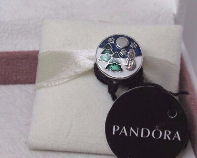New w/Box Pandora Snowy Wonderland Winter Scene Charm 796384ENMX Winter 2017