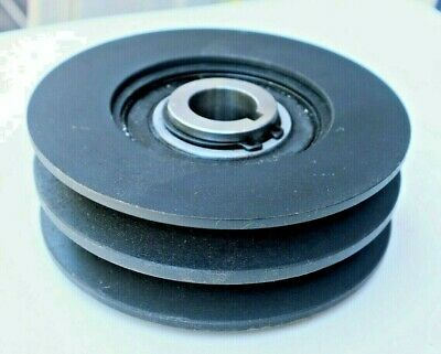 Double Pulley Centrifugal Clutch Fits Sawmills With 13hp Or 30hp 1 Bore Wkeyway