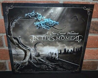 IN THIS MOMENT - A Star Crossed Wasteland, Ltd/300 BRONZE/WHITE VINYL