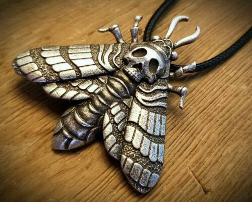 Skull Moth Necklace, Death
