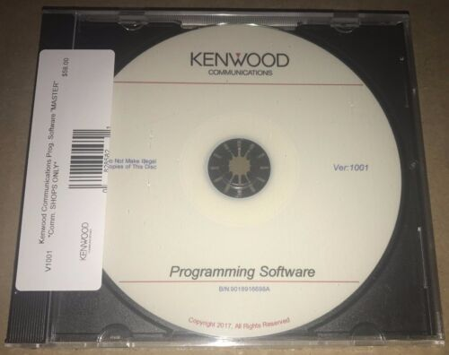 Kenwood Communications KPG MASTER PROGRAMMING CD SOFTWARE WITH SERIAL NUMBERS!