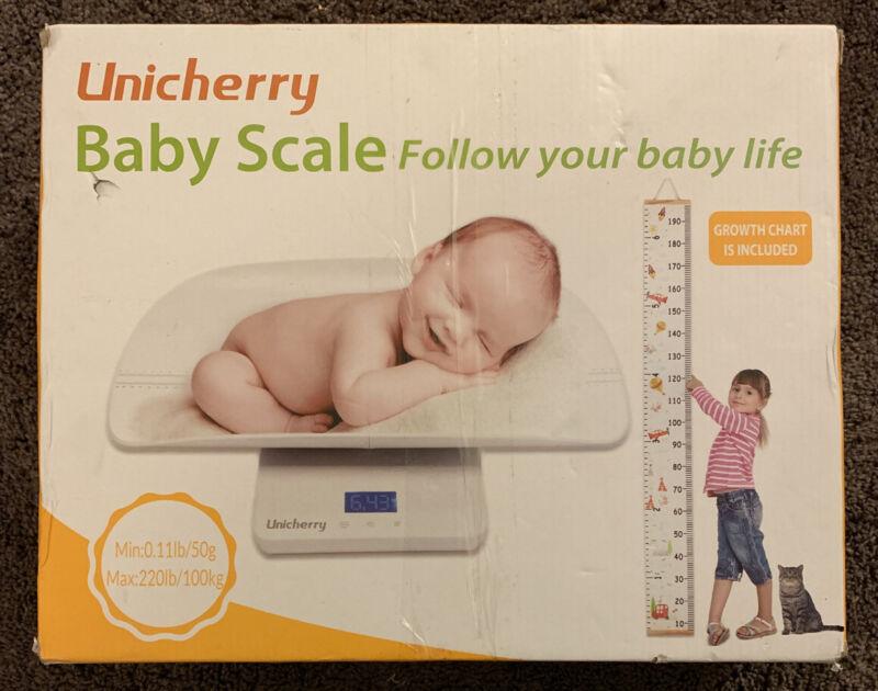 Unicherry Multi-Function Digital Baby Scale & Growth Chart