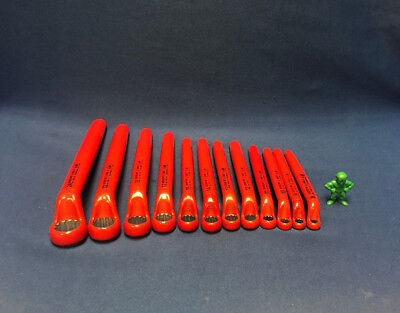 Gedore Vde 2 E -set Of 12 Electrician Metric Insulated Ring Spanner Wrench