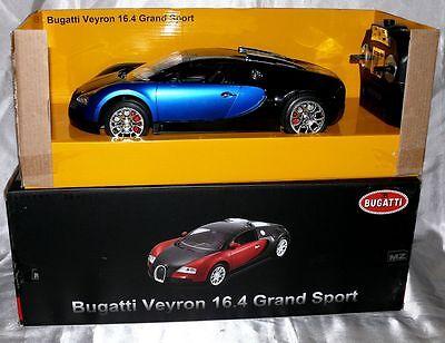 BUGATTI VEYRON 16,4 Grand Sport 1:14 RC 27MHz Kinder Renn auto FB MZ2032 Blau