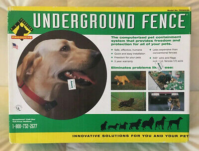 Pet Guardian Containment System Underground Fence PG3003W Pet Guardian Fence