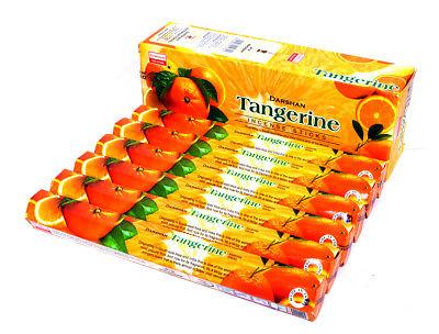 Ароматизированные палочки, благовони Tangerine - Incense