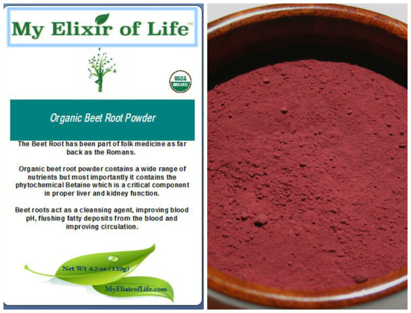 Organic Beet Root Powder Fresh & 100% pure Detox and Blood cleanser 8