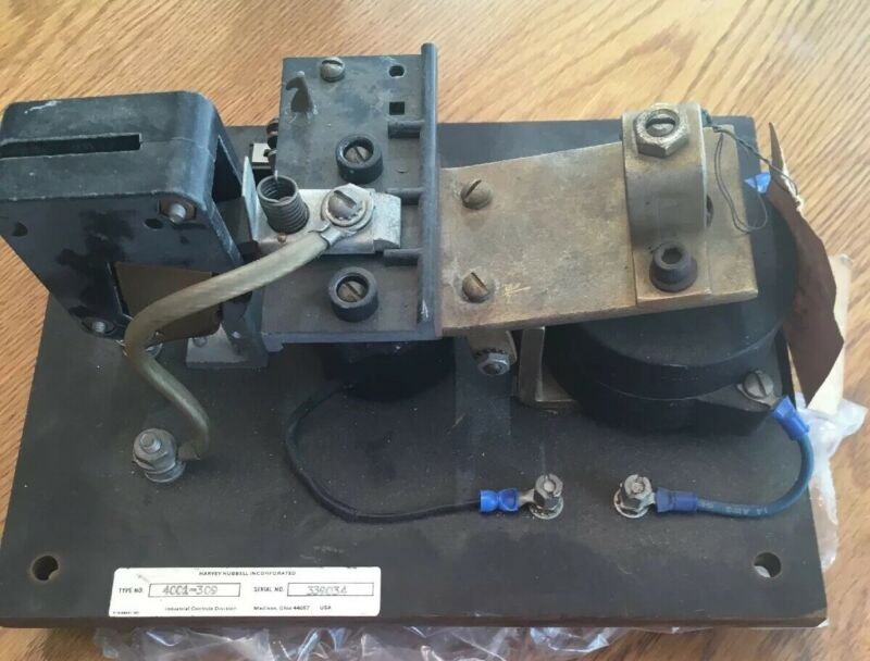 HUBBELL, Contact, Contactor type 4001, Part Number 58441, USA MADE, New Old Part