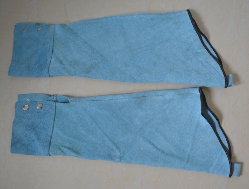 Split Leather Welding Sleeves Safty Protective Heat Arm Sleeve Soldering Tool