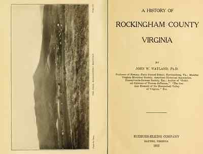 VIRGINIA - History & Genealogy - 227 Books on DVD, Ancestors, County, CD, VA
