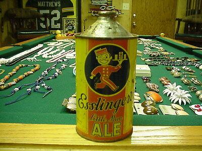 Esslinger's Beer Cone Top Beer Can (quart 32 oz)