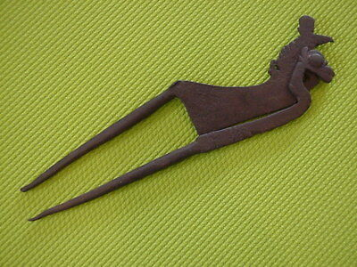 Rare Antique 18th/19th Century Iron Betel Nut Cracker Kacip Collectible Tool